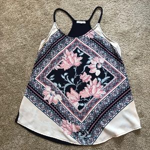 Maurices Floral Tank Top